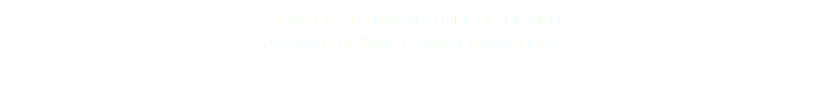 PROPOSED NCAA / ATHLETIC BRAND University of North Dakota Fighting Hawks