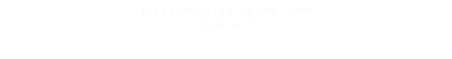 NORTH DAKOTA HIGH SCHOOL BRAND Legacy Sabers