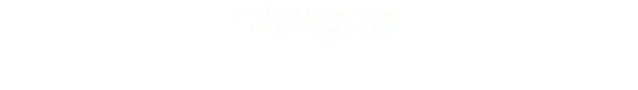 GOLF TOURNAMENT BRAND The Crow Wing International