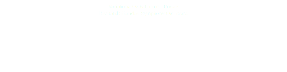 Variations On A Theme - Poster Bismarck-Mandan Symphony Orchestra
