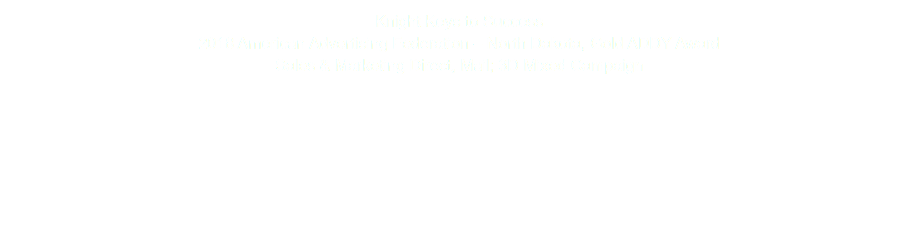Knight Keys to Success 2018 American Advertising Federation – North Dakota, Gold ADDY Award Sales & Marketing Direct, Mail; 3D Mixed Campaign